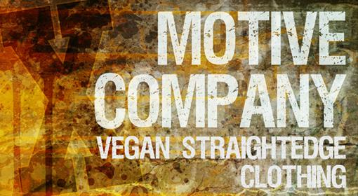 Straight Edge And Vegan Clothing | MotiveCo.