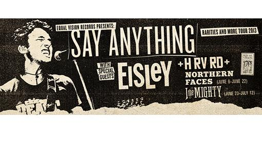 Say anything rarities and more tour